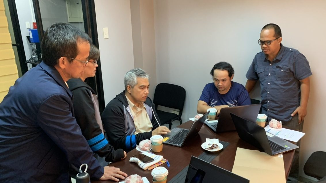 Meeting of Online Payment System with DBP Team