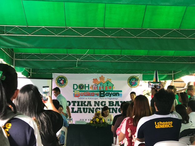 Launching of Botika ng Bayan and BB Information System