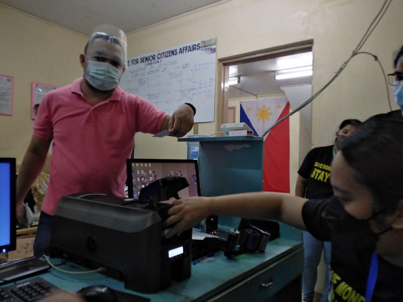 Senior Citizen ID System (SCIDS) Datacard Training